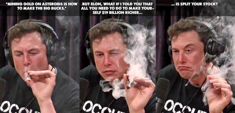 Stock Trading the Elon Musk Stock Split