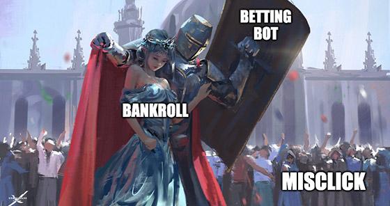 value betting bot meme